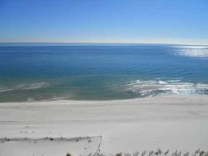 Southern exposure at Regency Isle condo in Orange Beach Alabama